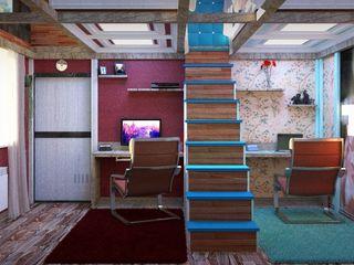 Nada-Design Студия дизайна. Mediterranean style nursery/kids room