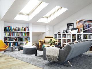 Piwko-Bespoke Fitted Furniture Living roomShelves