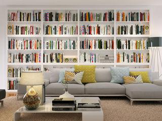 Piwko-Bespoke Fitted Furniture 客廳書櫃