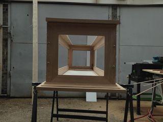 George Marsh's display unit woodstylelondon Tiendas y espacios comerciales