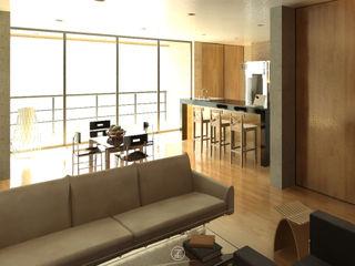 Lozano Arquitectos Cucina in stile industriale
