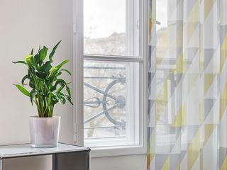 16elements GmbH 现代客厅設計點子、靈感 & 圖片