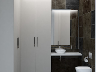 INCUBE Алексея Щербачёва Eclectic style bathroom