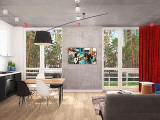 INCUBE Алексея Щербачёва Living room