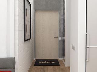 INCUBE Алексея Щербачёва industrial style corridor, hallway & stairs.