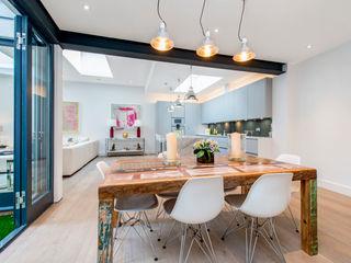 Basement Flat Refurb Balance Property Ltd Modern dining room