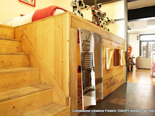 Frédéric TABARY Дитяча кімнатаЛіжка та дитячі ліжечка