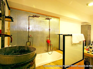 Frédéric TABARY Ванна кімнатаВанни та душові