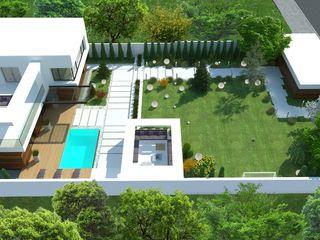 Загородный дом в Краснодаре NK design studio Дома в стиле модерн
