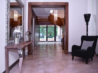 Architektura Wnętrz Daria Zaremba Modern corridor, hallway & stairs