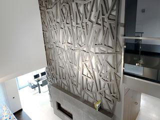 Pracownia projektowa artMOKO Sala de estarLareiras e acessórios