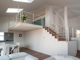 Realizzazione soppalco, scale e balaustre in villa nei castelli di Jesi (AN) maurizioborri