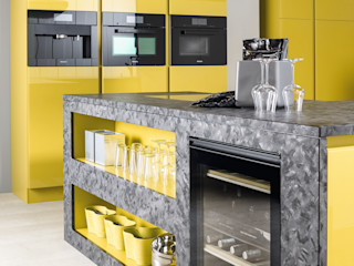 cuisine jaune CUISINE ESSENTIEL CuisinePlans de travail