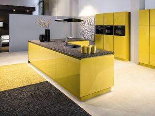 cuisine jaune CUISINE ESSENTIEL CuisinePlacards & stockage