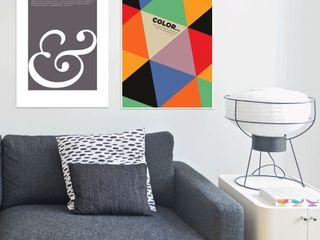 Art Everywhere JUNIQE Minimalistische Wohnzimmer