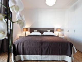 Musterwohnung Hamburg SALLIER WOHNEN HAMBURG Moderne Schlafzimmer