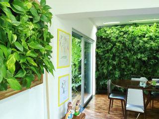 Quadro Vivo Urban Garden Roof & Vertical Oficinas y tiendas de estilo rústico