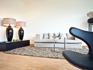 Musterwohnung Hamburg SALLIER WOHNEN HAMBURG Moderne Wohnzimmer