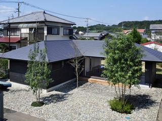 下北方の家/宮崎市の住宅 山田伸彦建築設計事務所 モダンな 家