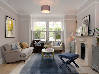 Family Home Ruth Noble Interiors Living roomSofas & armchairs