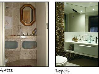 Celia Beatriz Arquitetura BathroomSinks