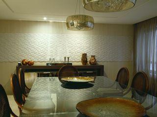 Celia Beatriz Arquitetura Ruang Makan Gaya Rustic