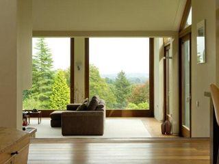 New house in Sussex Giles Jollands Architect Вітальня