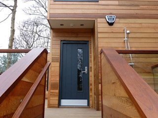 Cornwall Cladding - Truro Building With Frames Modern Houses Wood