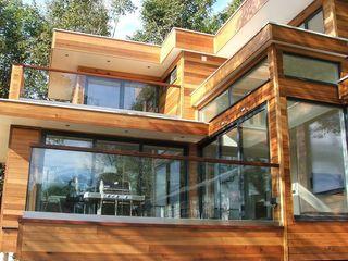 Cornwall Cladding - Truro Building With Frames Minimalist house Wood