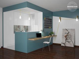moovdesign Minimalist kitchen