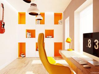 Ale design Grzegorz Grzywacz Minimalist nursery/kids room