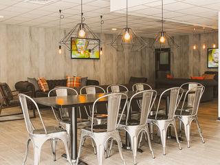 The Northwood Club - A boutique style gym Bhavin Taylor Design Bar & Klub Gaya Industrial