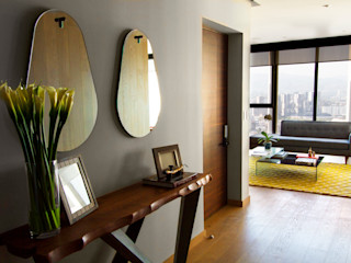 Concepto Taller de Arquitectura Modern Corridor, Hallway and Staircase