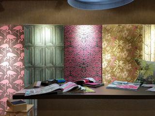 El Mundo del Papel Pintado El Mundo del Papel Pintado Paredes y suelos de estilo moderno
