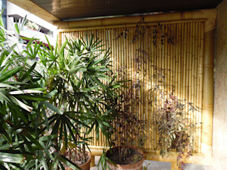 Bambu Rei Eco-Design Balcone, Veranda & Terrazza in stile rustico