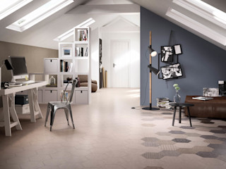Hexagonal Floor Tiles Tileflair Modern walls & floors