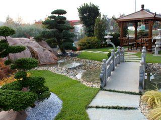 Realizzazioni giardini Azienda agricola Vivai Romeo Giardino in stile asiatico