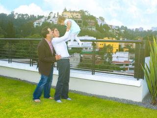 Azoteas Verdes Balcone, Veranda & Terrazza in stile classico
