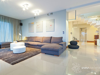 SARNA ARCHITECTS Interior Design Studio Living room