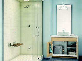 Steam Showers with Mr. Steam Generators Nordic Saunas and Steam Modern Bathroom