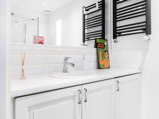 Pracownia Architektury Wnętrz Decoroom Mediterranean style bathroom