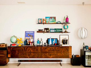CARMELLO ARQUITETURA Living roomTV stands & cabinets