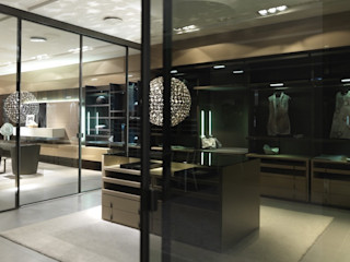 walk-in-wardrobe Lamco Design LTD Dressing roomStorage