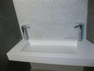 marmoles la pedrera Mediterranean style bathrooms