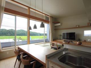福田康紀建築計画 Asian style dining room