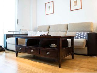 muxo Studio Scandinavian style living room