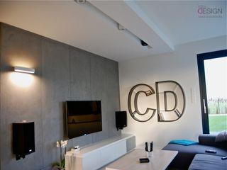 kabeDesign kasia białobłocka Modern living room