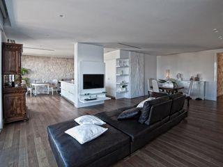 Francesca Ignani Interiors Ruang Keluarga Modern