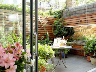 Open-Plan Kitchen/Living Room, Ladbroke Walk, London Cue & Co of London Сад