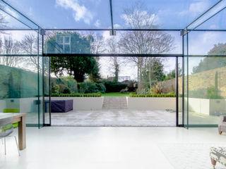 Barnes, London; Culmax Glass Box Extension and Maxlight Doors Maxlight Minimalist windows & doors